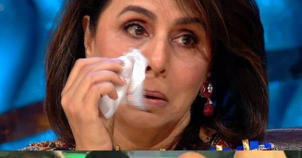 Neetu Kapoor cries after watching Rishi Kapoor's video
