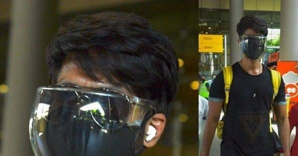 Shahid Kapoor's witty and savage response to paparazzi over his multi-layered mask leaves netizens in splits