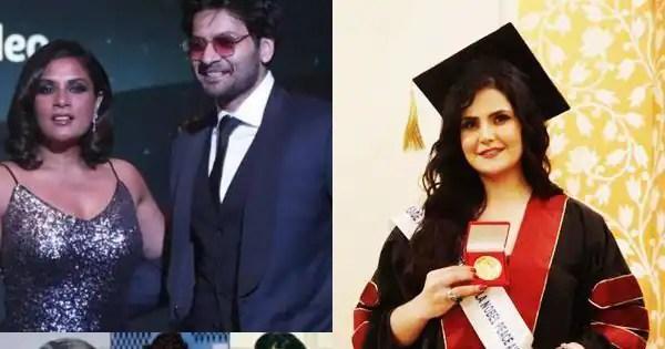 Manushi Chhillar's next project, Ali Fazal-Richa Chadha's 1st production, Zareen Khan joins SRK and Amitabh Bachchan