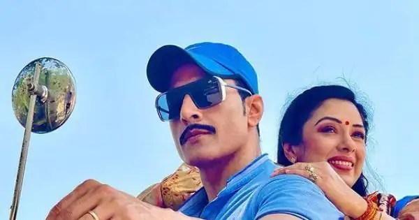 Rupali Ganguly and Sudhanshu Pandey hint at Anupamaa and Vanraj's new love story – view pic