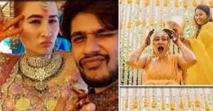 South star Vishnu Vishal's bride Jwala Gutta's pre-wedding celebration photos came up, see here photos of the turmeric and mehndi ceremony