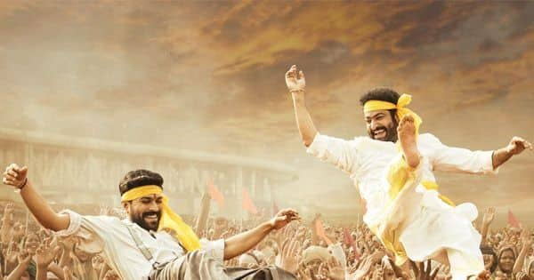 Ram Charan and Jr NTR soak in the festive spirit of Ugadi in new poster
