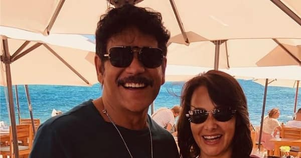 Amala Akkineni is in love with the 'new avatar' of Nagarjuna Akkineni — view tweet