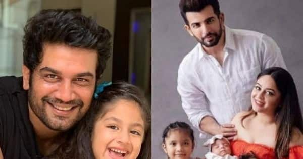Sharad Kelkar, Jay Bhanushali, Karanvir Bohra and other actors who are the coolest dads on the block