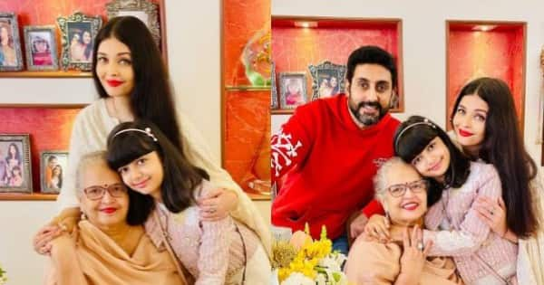 Aishwarya Rai Bachchan celebrates mother's 70th birthday and we cannot take our eyes off the pretty and all grown up Aaradhya – view pics