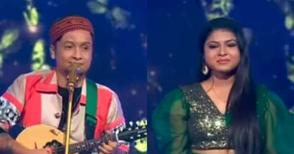 Pawandeep Rajan spotted singing a romantic folk number while dining; Is Arunita Kanjilal the lucky girl?