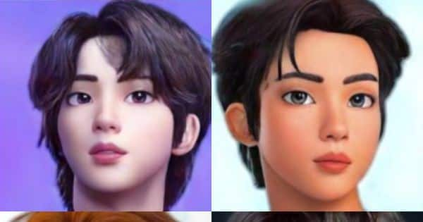 RM, Suga, Jin, Jimin, Jungkook, J-Hope and V TRANSFORMED into Disney characters; pictures go viral