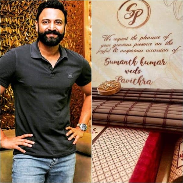 After his divorce with Keerthi Reddy, Sumanth Akkineni to get married for  the second time with a girl named Pavithra – Wedding card goes viral