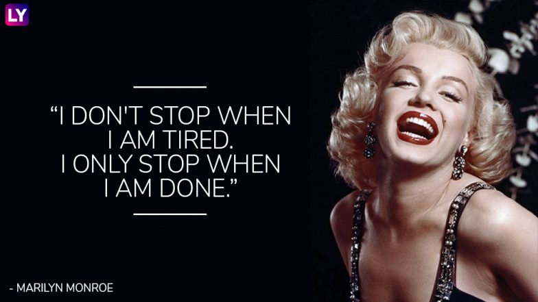 Marilyn Monroe Birth Anniversary Special  5 of the Sassiest Quotes     Marilyn Monroe Birth Anniversary Special  5 of the Sassiest Quotes by the  Eternal Diva