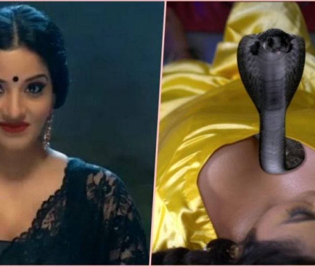 Monalisa Turns Sexy Daayan For Nazar But Have You Seen This Hot Bhojpuri