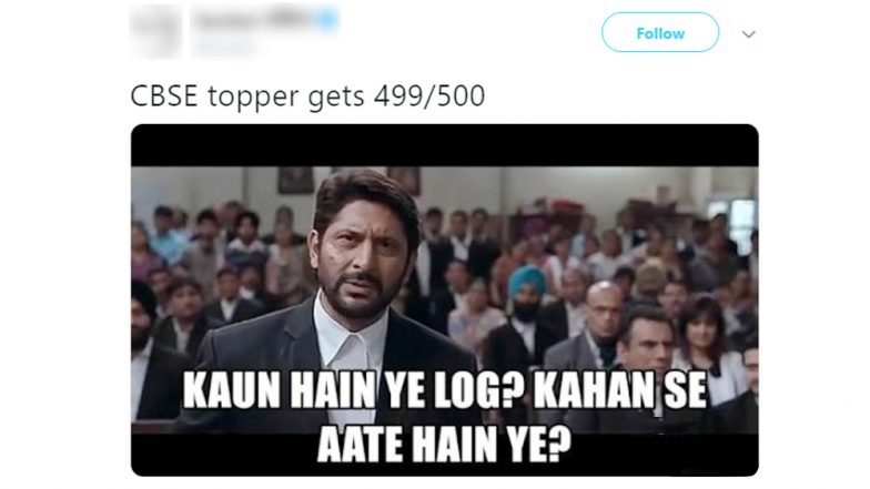 Funny Memes On Cbse Exam Class 12 Results Twitterati Hails The