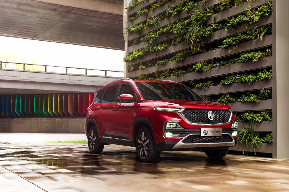 MG Hector 14 - 2019 MG Hector SUV Officially Unveiled; India Launch Next Month - View Pics