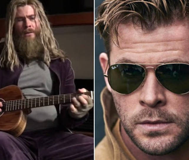 Chris Hemsworth Singing Johnny Cash Song Hurt In His Fat Thor Garb Is Going