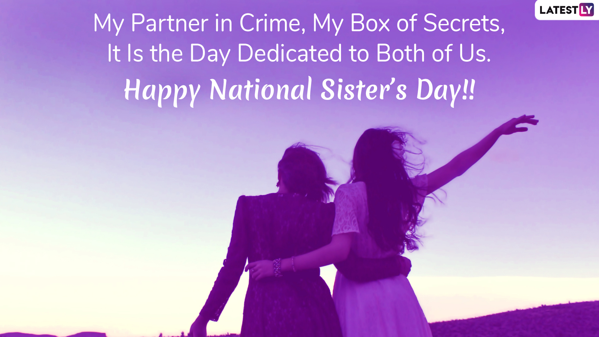 National Sisters Day 2019 Gif Confession Of Rose