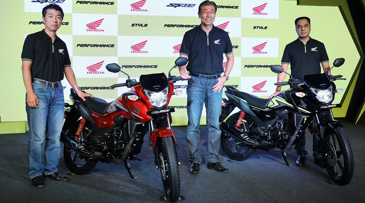 Launch Picture - Honda SP 125 BS6 Motorcycle Launched in India; Check Prices, Features, Variants & Specifications