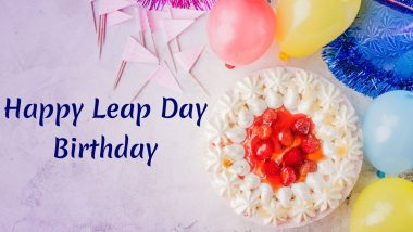 Happy Leap Day Birthday Wishes Whatsapp Messages Images And Quotes To Send Those Who Are Born On February 29 Latestly