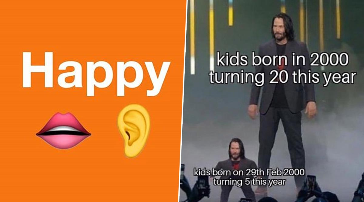 Leap Year 2020 Funny Memes Enjoy These Jokes Because We Ve Got An Extra Day To Burst Into Laughter Latestly