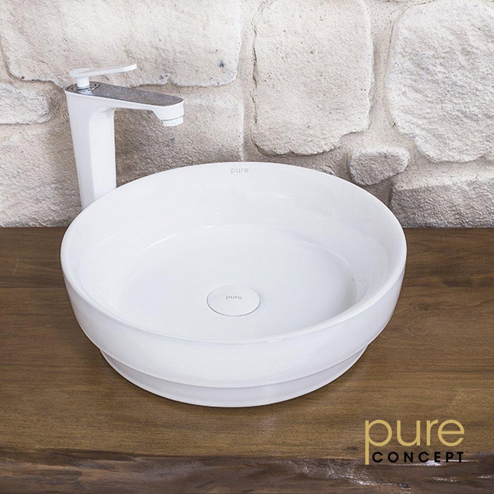 Pure W 202 Canak Lavabo 40 Cm Beyaz
