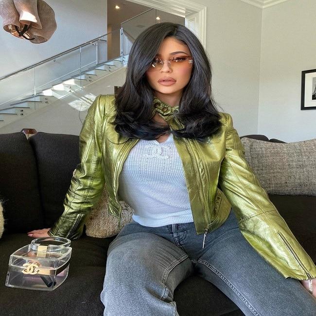 Kylie Jenner Shows Off Her Design Wear
