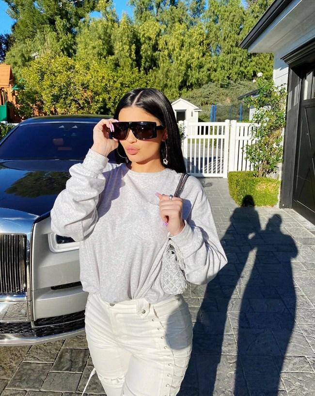 Kylie Jenner's Stylish Reflector