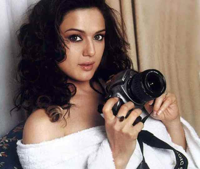 Preity Zinta Poses Sultry In A Bold Shoot