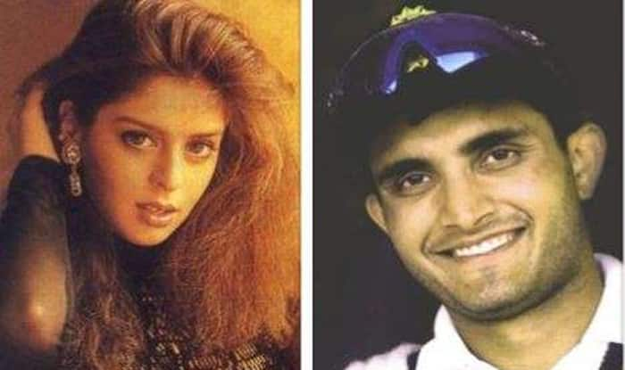 Image result for ganguly with nagma