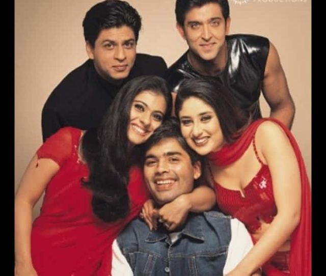 Team Of Kabhi Khushi Kabhie Gham With Karan Johar