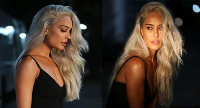 Lisa Haydon Gets Her Hair Coloured Platinum Grey Here Are