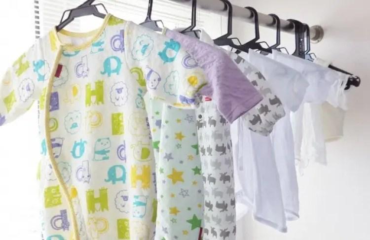 赤ちゃん 洗濯物 分ける