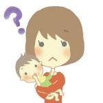 赤ちゃんの口の周りの湿疹が治らない!?その原因と対策とは?