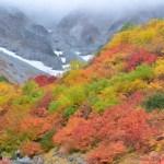 絶景!涸沢カールの紅葉の見ごろと混雑状況!登山の服装は?