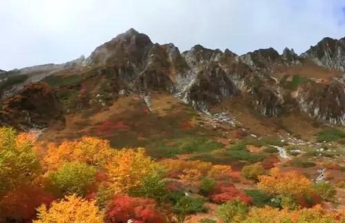 木曽駒ヶ岳 紅葉