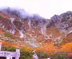 木曽駒ヶ岳 紅葉 見ごろ