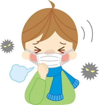 インフルエンザ 風邪 同時