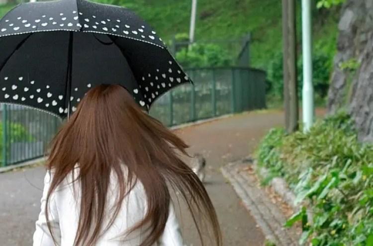 雨 髪 うねり