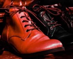 革靴 お手入れ 傷 剥がれ 補修