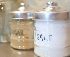 固まった塩 戻し方 塊