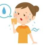 吹き出す汗を止める方法は?拭き方と首やおでこを冷やす効果