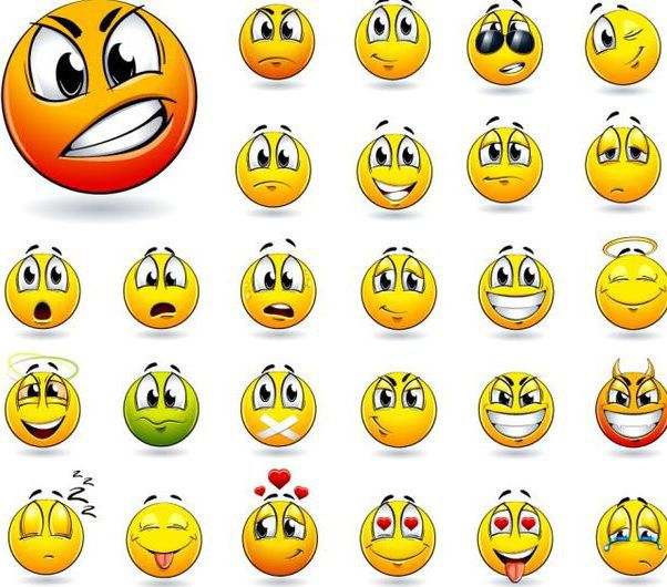 Funky Yellow Emoticon Smiley Pack Free Vector Download 181701 Cannypic