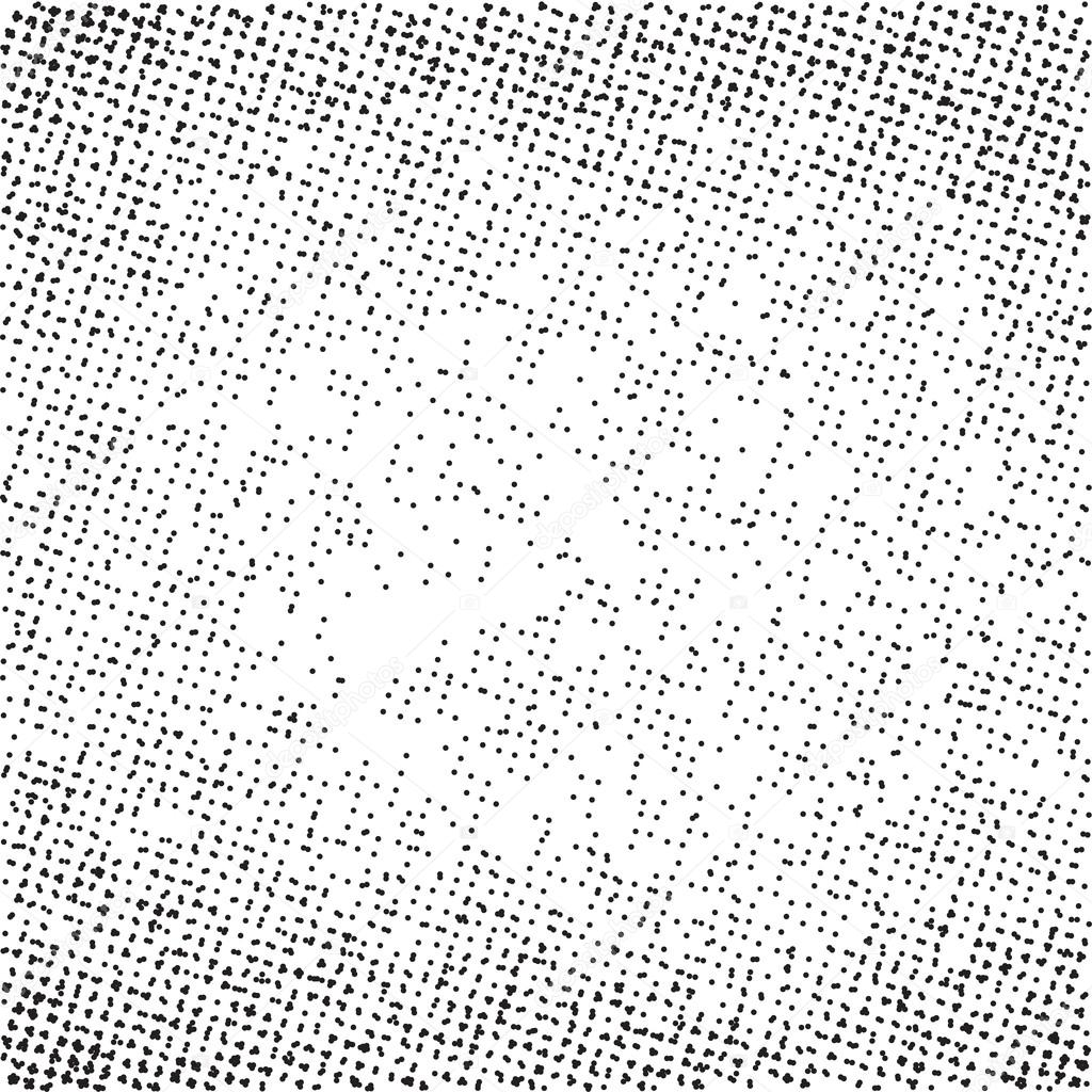 Radial Gra Nt Halftone Dots Background