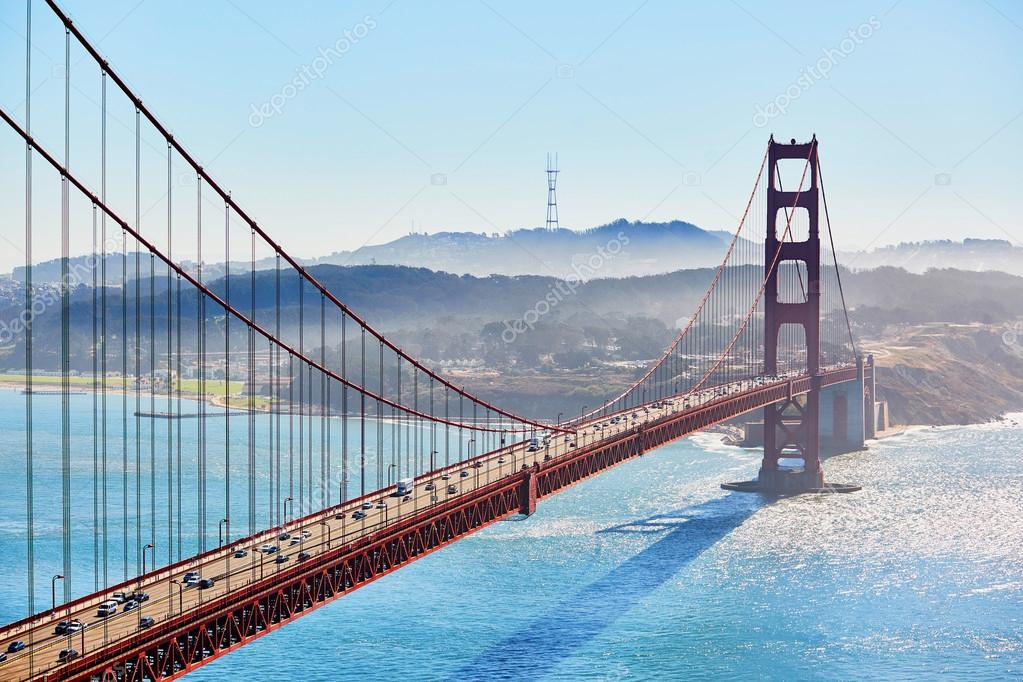 Golden Gate Bridge In San Francisco California Usa