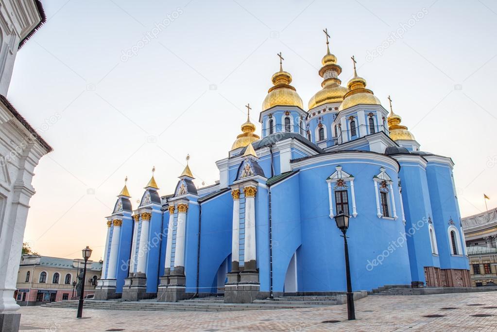 Resultado de imagen para Monasterio de San Miguel de las Cúpulas Doradas de Kiev, Ucrania.