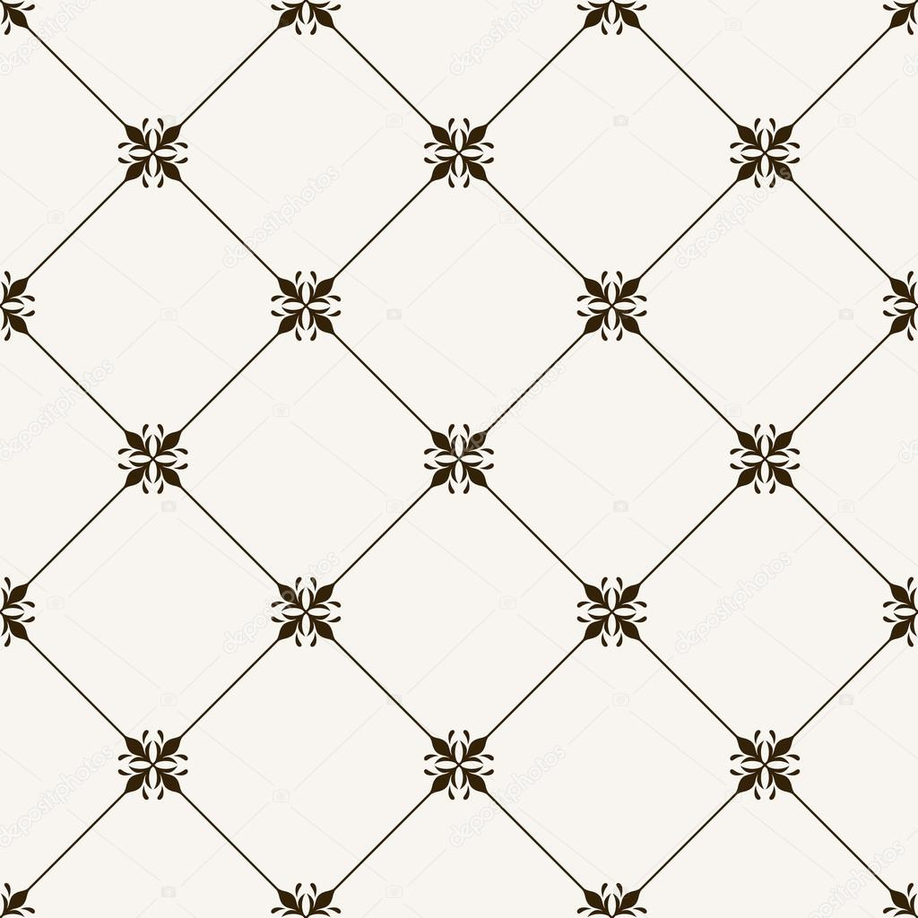 Vector Seamless Tile Pattern Modern Stylish Texture