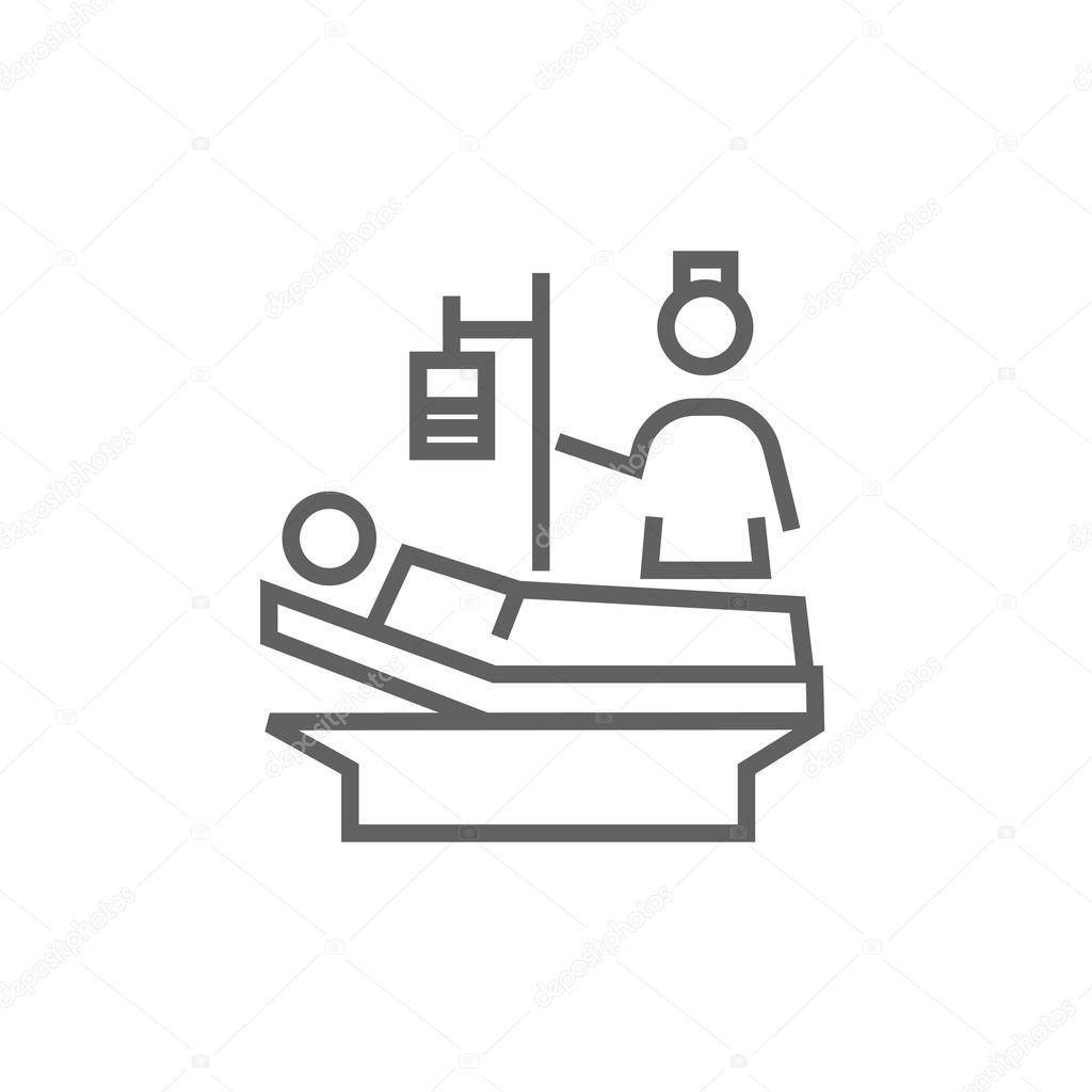 Krankenpflege Pflege Symbol