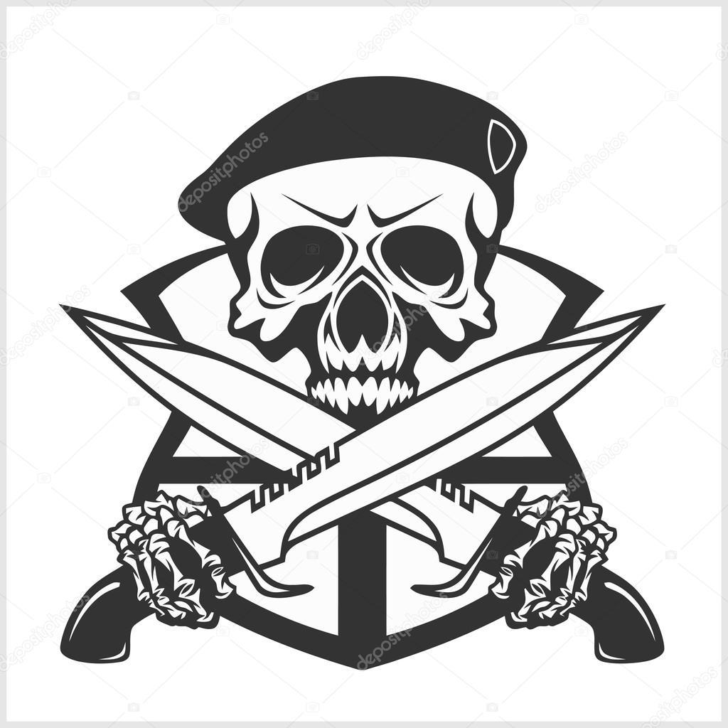 Calavera Militar