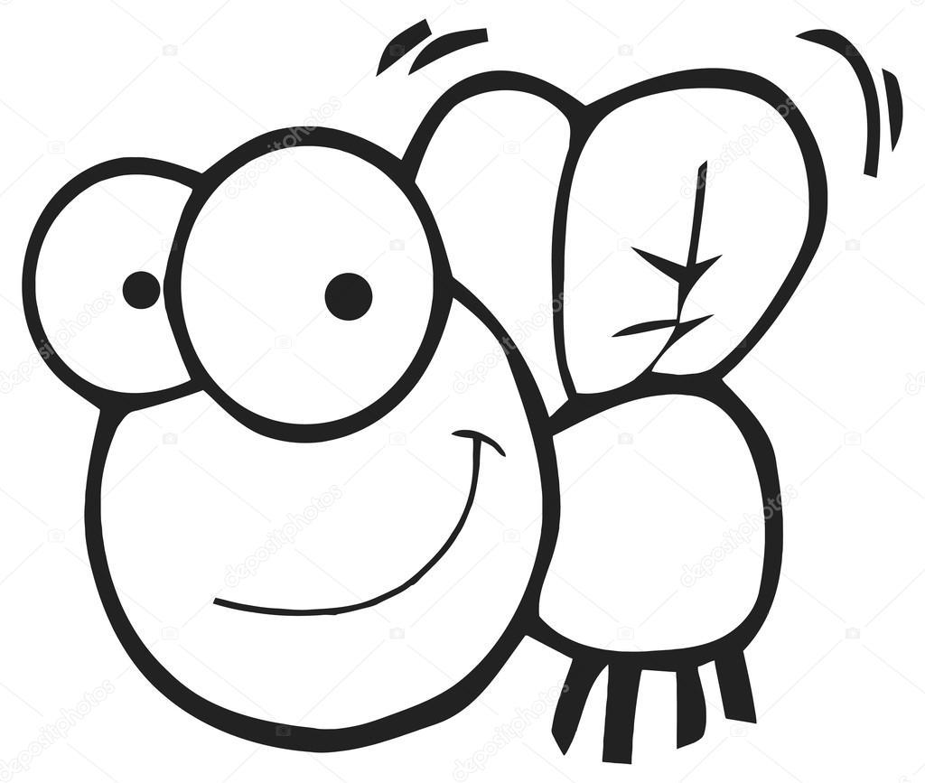 Cartoon Fly Character