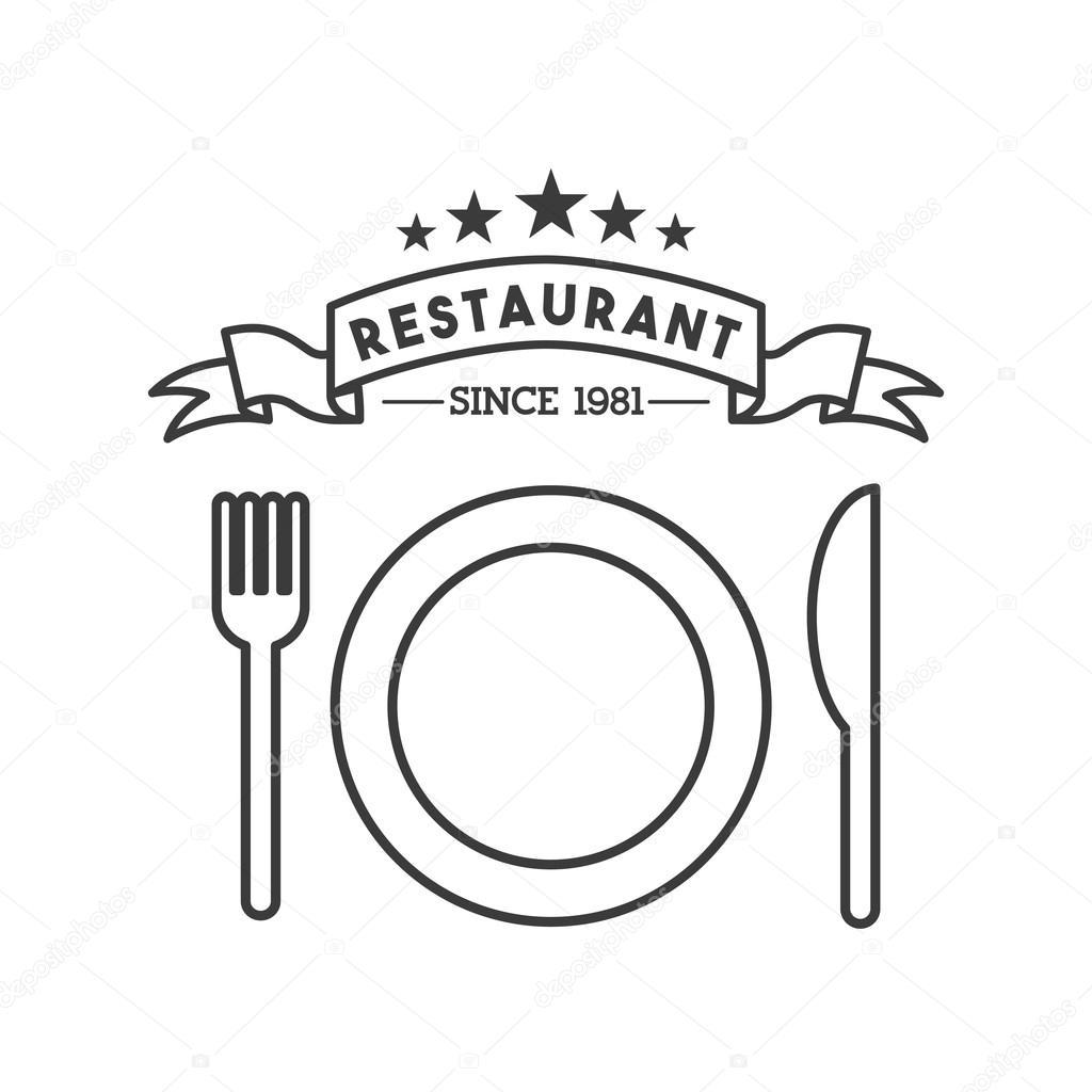 Menu De Restaurante Prato E Talheres