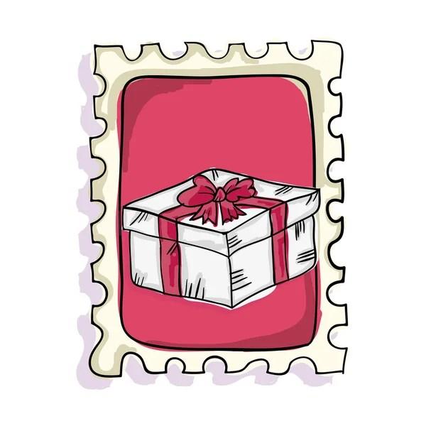 Love Letter Postage Stamp Stock Vector Yupiramos