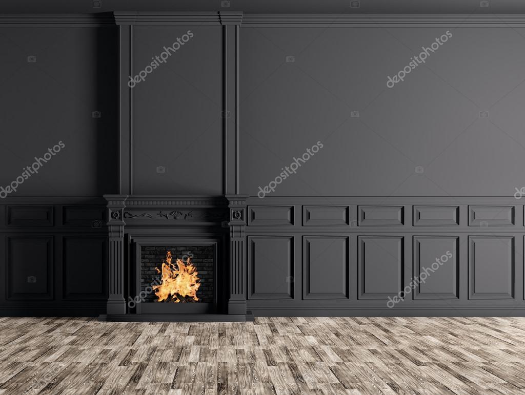 Chambre Avec Mur Noir Good Chambre Mur Noir Paillete Avec
