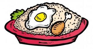 Indonesian Food Cartoon